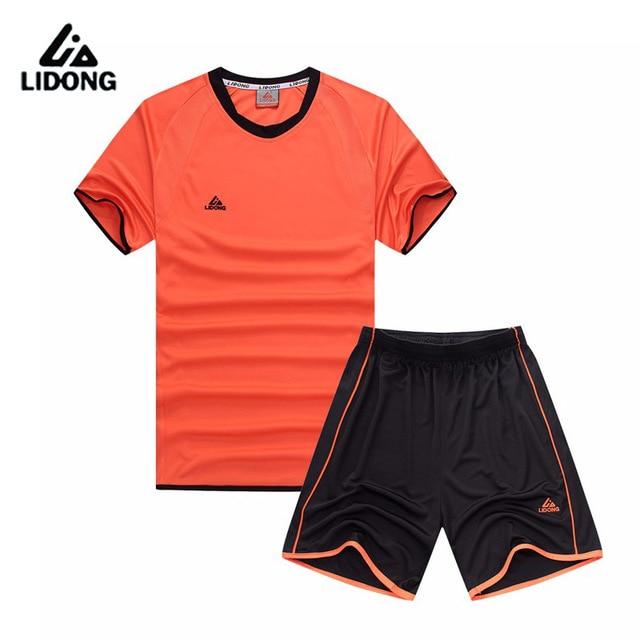 46e0daec Kids Boys Football Soccer Jerseys Sets Child Futebol Uniforms Suits Sports Kit  Training Shorts Shirts Quick