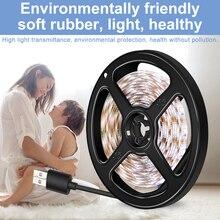 Night Light USB LED Strip Waterproof Kitchen Cabinet Lamp TV Background Lighting Wireless Wardrobe Tape