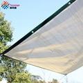 Бренд Tewango 95% теней скорость 180 г/кв. М d-кольцо 50 см пространство HDPE Сетка открытый тент паруса песок прямоугольник Патио Сад покрытие УФ-блок