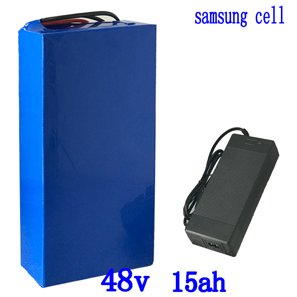 48V 1000W battery pack 48v 15ah lithium battery use samsung cell 48V 15AH electric bike battery with 54.6V 2A charger duty free48V 1000W battery pack 48v 15ah lithium battery use samsung cell 48V 15AH electric bike battery with 54.6V 2A charger duty free