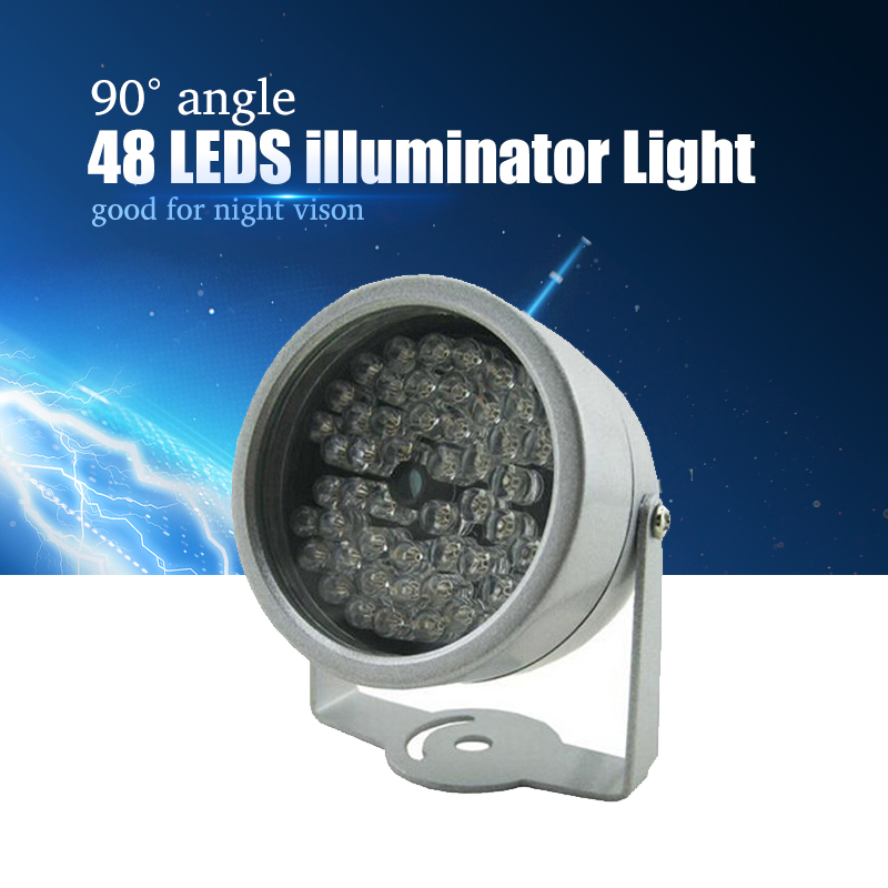 YiiSPO 48 LED illuminator Light CCTV IR Infrared Night Vision For Surveillance Camera Brand New From Factory цена