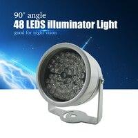 Yispo 48 светодиодный осветитель Света CCTV ИК инфракрасного ночного видения для камеры наблюдения новый, с завода