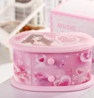 Hot selling Creative dansen Prinses spinning sieraden muziekdoos decoratie kind meisjes gelukkig verjaardagscadeautjes qy589