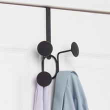 Creative Traceless art Door Holder Hook Hanger Hanging Coat Hooks Clothes Rack bedroom livingroom Bathroom Home