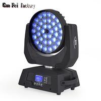 led moving head wash light 36*18w 6in1 led rgbwa uv zoom of professional dj equipment