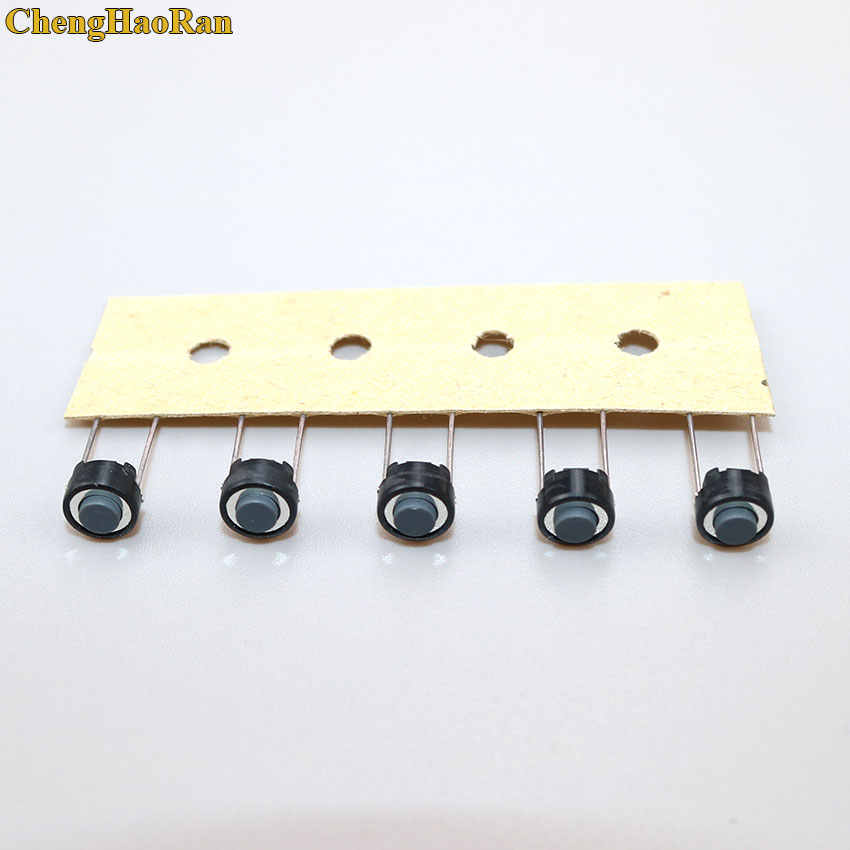 ChengHaoRan 1 stücke Touch schalter taste 6*6*4,3mm DIP 6X6X4,3mm Tactile tact Push Button Schalter Momentary für ALPS weiß kopf