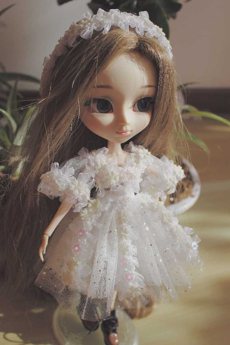 Free shipping high quality Handmade 2pcs/set Skirt + hairband Doll Clothes for Blythe licca pullip Doll accessories Toys Gift free shipping handmade custom made skirt 2 jewelry doll clothes for blythe fr licca azone doll accessories toys gift