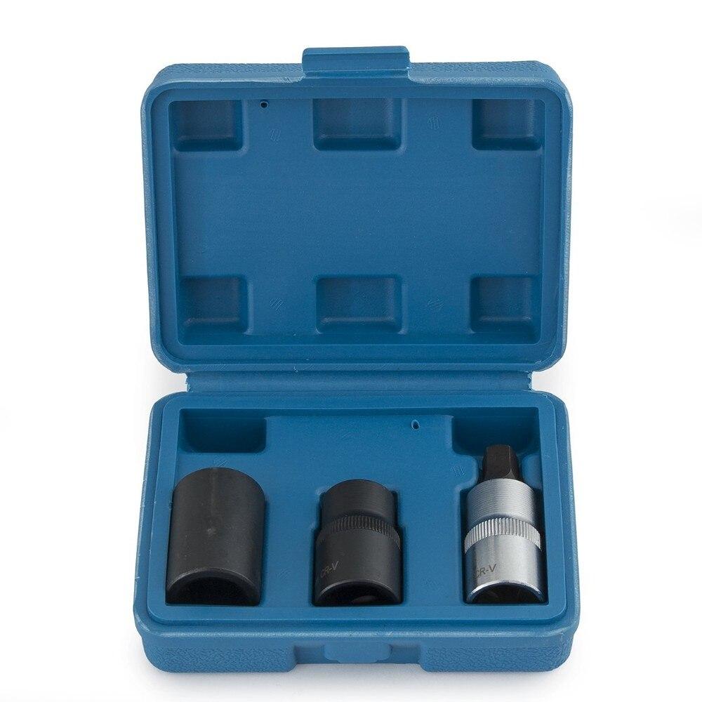 Conjunto de Bits de Soquete Pinças de Freio do Sistema Pentágono Hex Allen Bendix Freio Girling Inteligente Chave Ferramenta Grupo Crv 3pc 1 – 2 Dr.