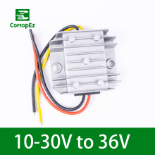 DC DC Converter 10-30V to 36V 1A  Step Up Boost Module Frequency Converter Voltage Regulator Power Supply for Cars Solar Panel automatic step up down dc power supply at30 converter buck boost module replace xl6009 4 30v to 0 5 30v