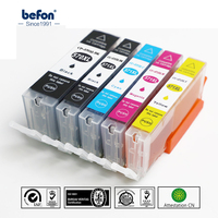 Befon 570 571 PGI-570 CLI-571 Compatibele inkt Cartridge Vervanging voor Canon PIXMX MG5750 MG5751 MG5752 MG6850 MG6851 MG6852