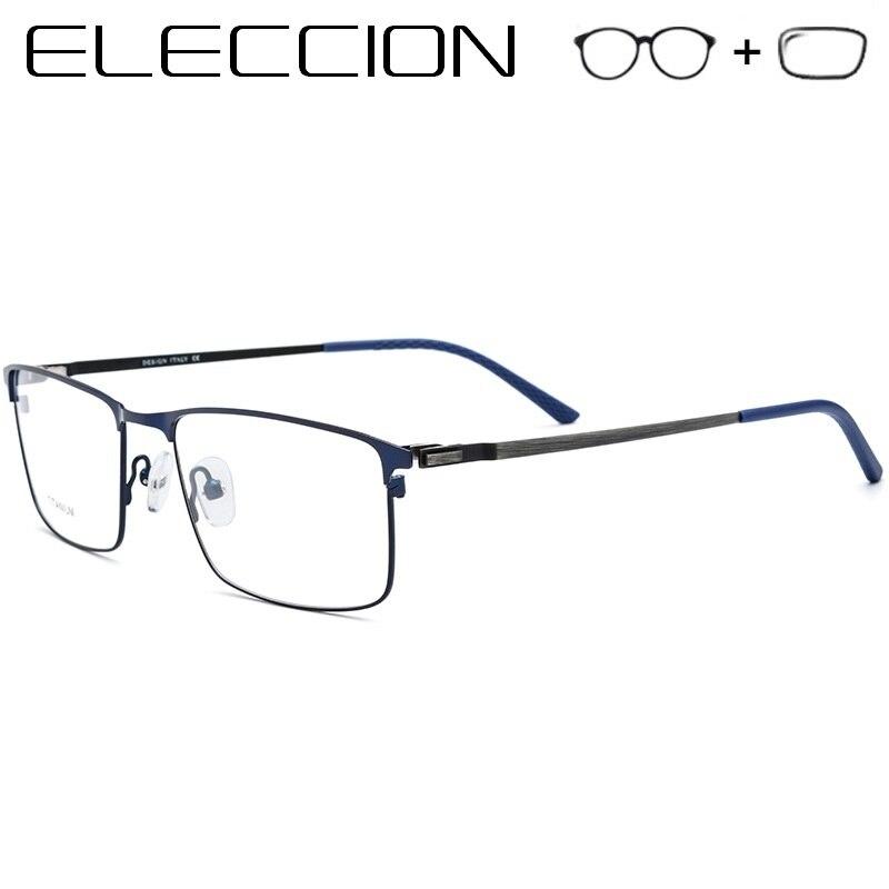 35d2040124 Kirka bonito tipo hombres gafas marco Retro diseñador miopía marca óptico  claro lentes gafas marco óptico