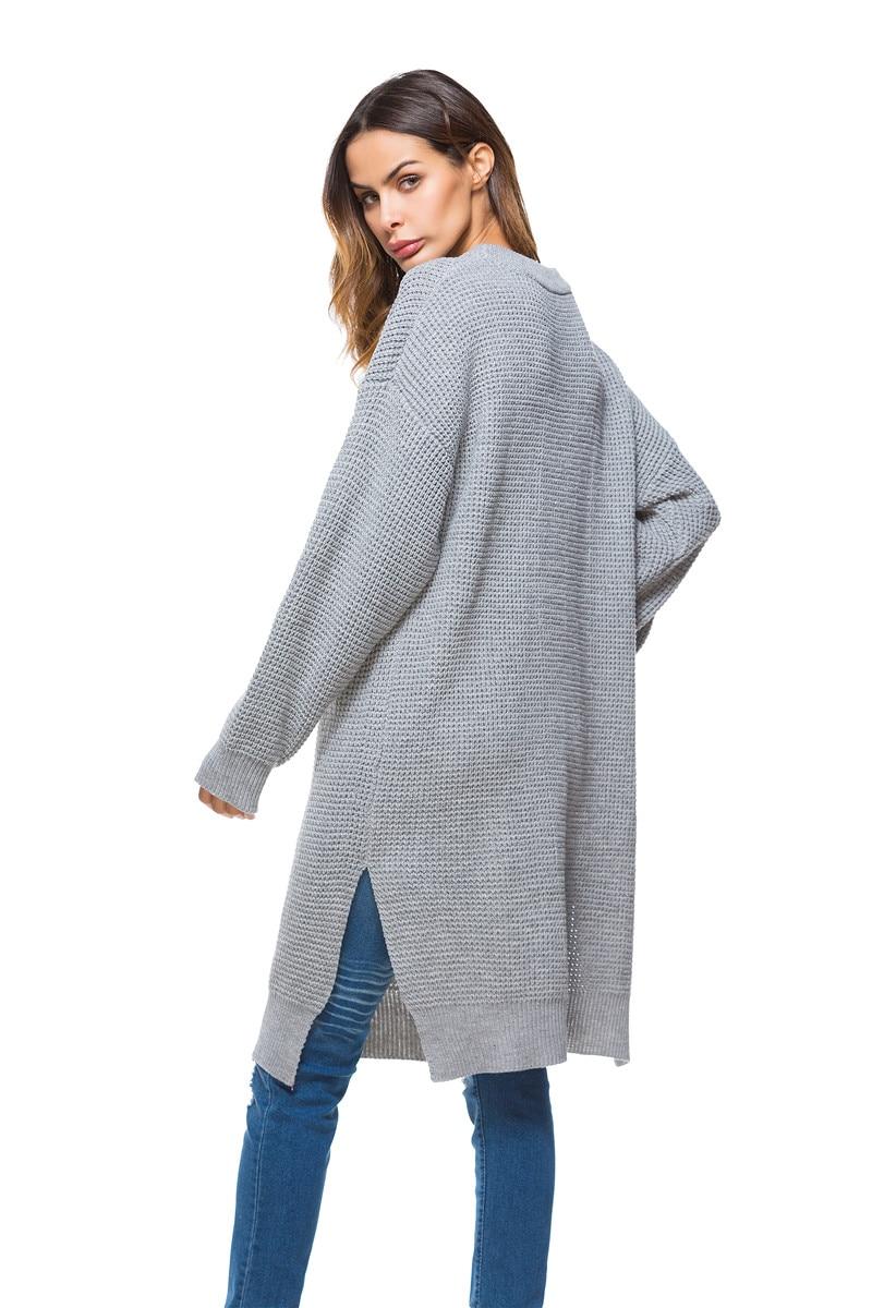 Fall Winter Vintage Mustard Side Slit Crochet Sweater Dress for Women Cute Ladies Retro Cosy Loose Split Pullover One Size 19