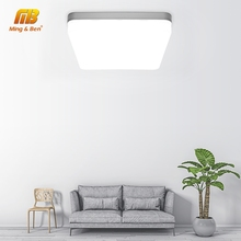 цена на Square LED Panel Light 18W 24W 36W 48W LED Surface Ceiling Downlight AC85-265V Round Ceiling Lamp For Deroration Home Lighting
