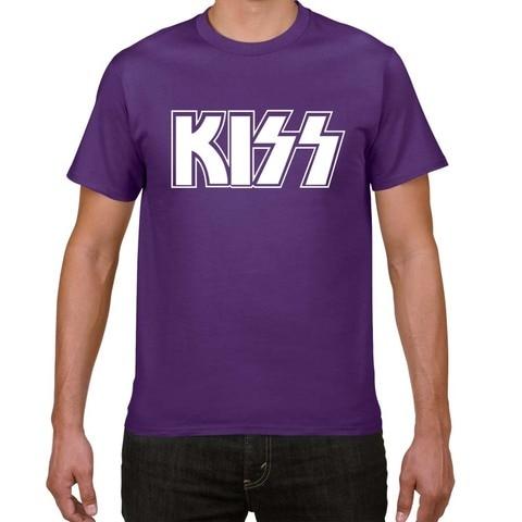 2019 New Kiss  End of The Road Tour T SHIRT men plus size rock Band t-shirt men 100% cotton casual tshirt men street wear tops Islamabad
