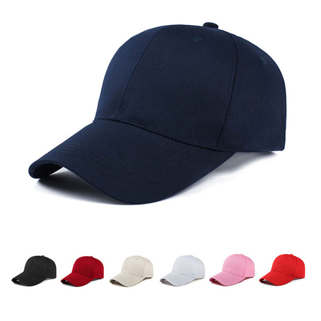 dc5262d6512 Unisex Men Women Blank Baseball Cap Plain Bboy Snapback Hats Hip-Hop  Adjustable