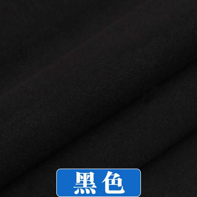 US $11.83 30% OFF|Kaszmirowy płaszcz tkaniny 1.5*0.5M grube zimowe imitacje wełniane ubranie dwustronne moda solid color szycia dla kobiet sukienka