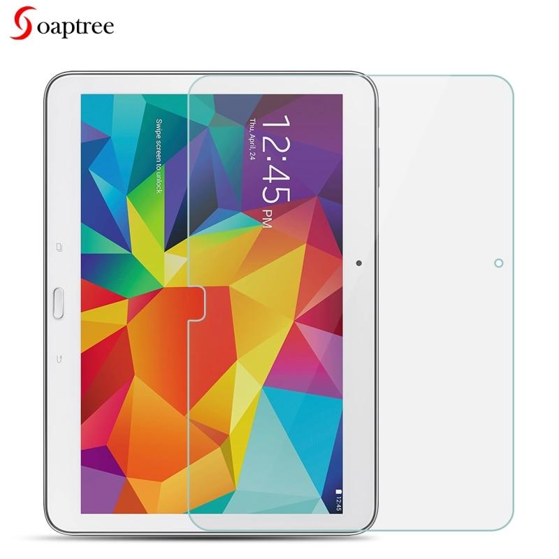 Gehärtetem Glas Für Samsung Galaxy Tab 4 10,1 Lte Sm T530 T531 T535 T533 10,1 Inch 9 H Gehärtetem Glas Film Tablet-zubehör Tablet-display-schutzfolien