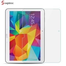 цены на Tempered Glass For Samsung Galaxy Tab 4 10.1 LTE SM T530 T531 T535 T533 10.1 inch 9H Toughened Glass Film  в интернет-магазинах