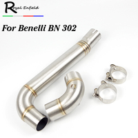 For Benelli BN302 exhaust motorcycle muffler for Benelli BN302 Mid Link Pipe Motorbike
