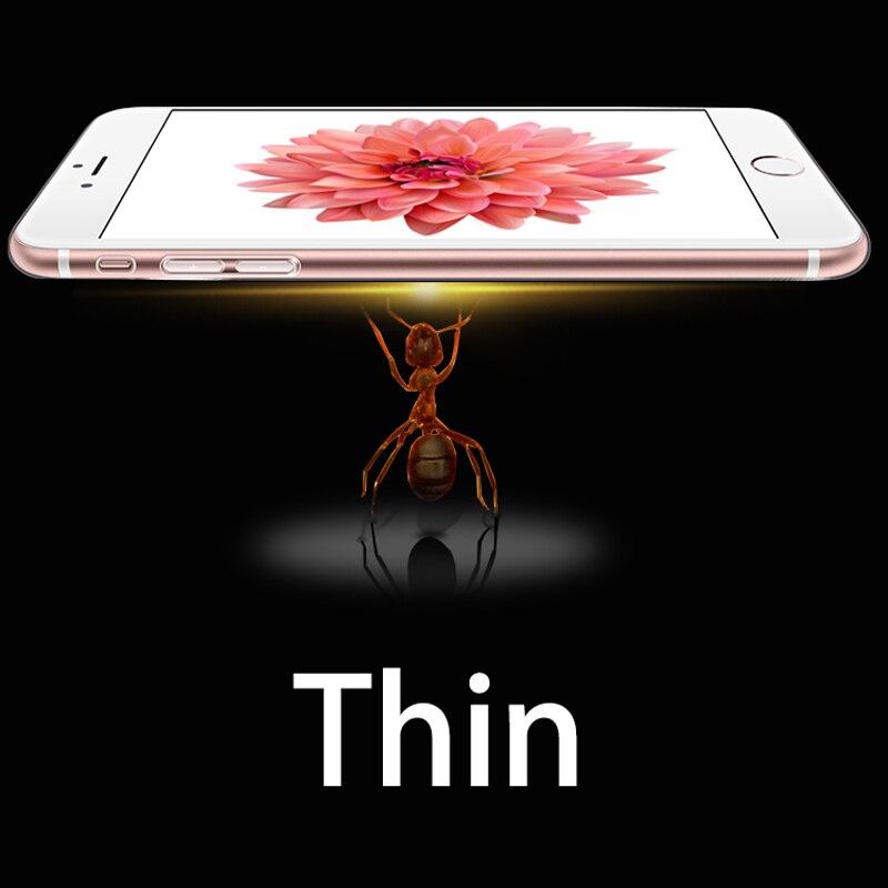 iPhone 5 5S 6 6S 6 PLUS 7 S Doolike Şəffaf Cib telefonu üçün - Cib telefonu aksesuarları və hissələri - Fotoqrafiya 3