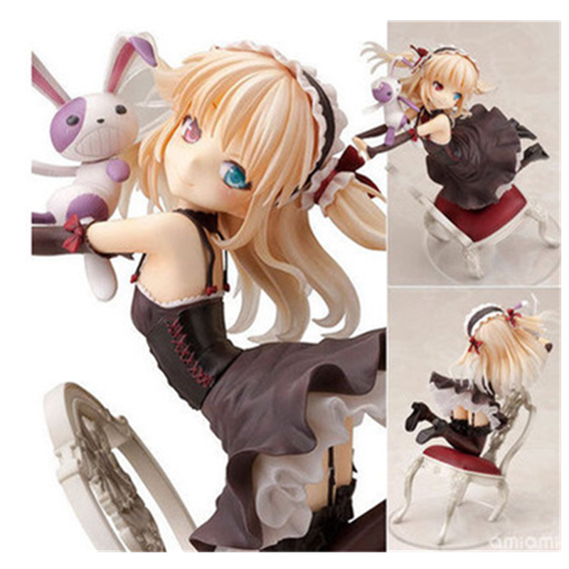 16.5CM  I Have Few Friends Anime Figure Kobato Hasegawa Action Figure Sitting Position Cute Girl Dolls with Box F19416.5CM  I Have Few Friends Anime Figure Kobato Hasegawa Action Figure Sitting Position Cute Girl Dolls with Box F194
