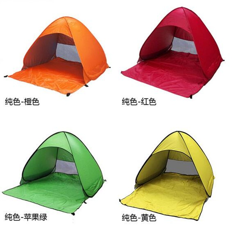 165*150*110см Анти-УФ беседка полностью автоматический бесплатно строительство кемпинга пляж тени палатки