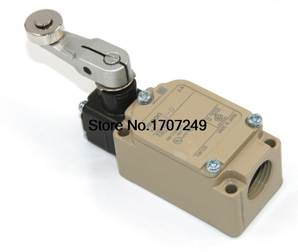 Free shipping 1pcs New original OMRON Micro switch Travel switch limit switch WLCA2 Q