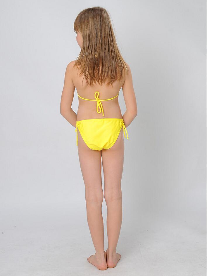 6ffdb982b4ce8 New Summer Girls Two Piece Fringe Swimwear Triangle Halter Neck ...