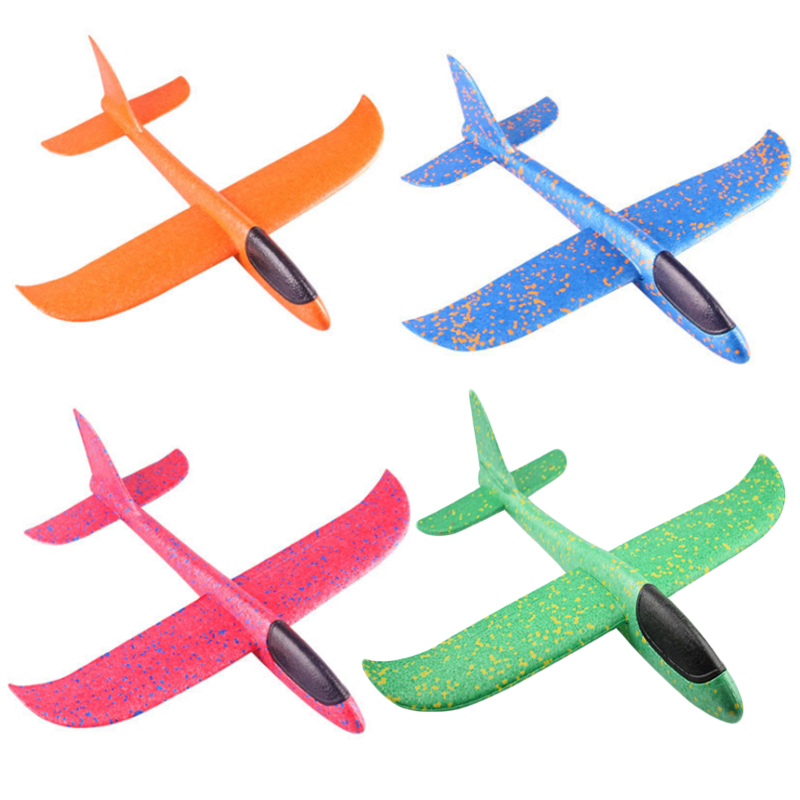 36/49CM Hand Throw Flying Glider Planes Foam Aircraft Model EPP Resistant Breakout Aircraft Children Party Game Outdoor Toys