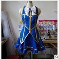 Anime Fairy Tail Lucy Heartfilia Cosplay Costume  Halloween Christmas Party Uniform