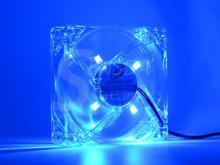 Осевой molex silent шасси светящиеся компьютер вентилятор plug dc светодиодные см