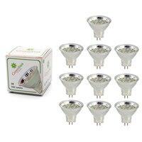 GreenSun 10Pcs Set 2.5W 3W MR11 Led Spotlight GU4 LED Bulb 2835 SMD Lamp Energy Saving Led Spot Light Bulb Cool White Warm White