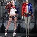 Suicide Squad Харли Квинн косплей костюм Хэллоуин костюмы для взрослых женщин костюм Харли Квинн косплей Харли пиджак