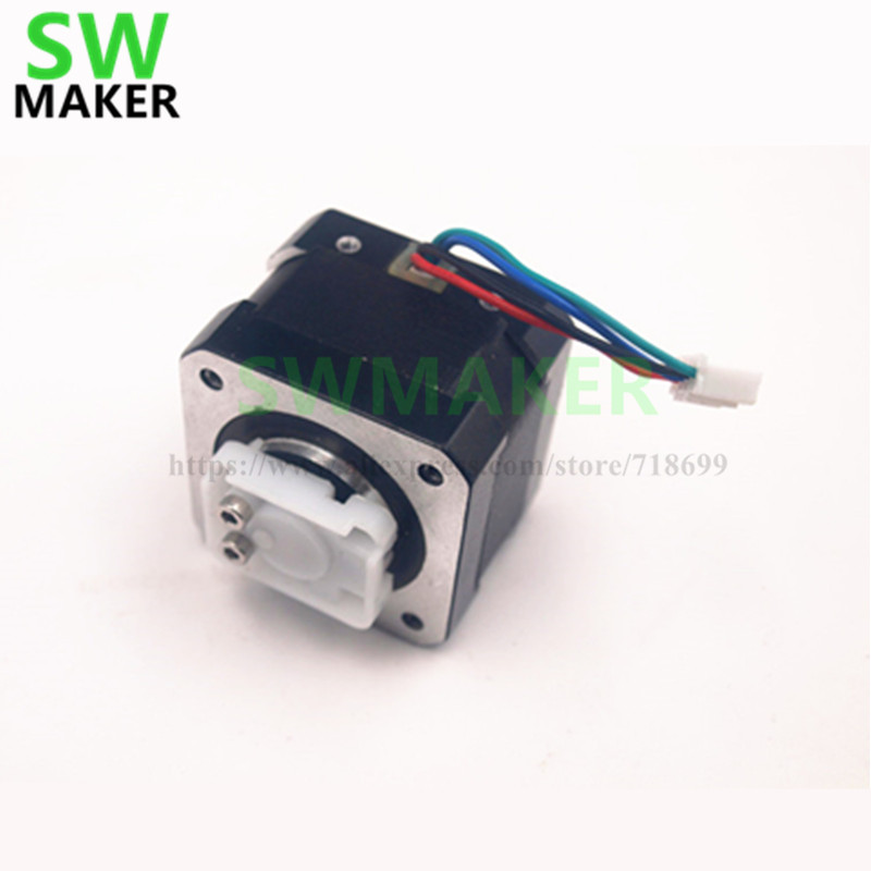 SWMAKER Extruder gear cover Stepper Motor with driver gear for UP Afinia taier/Afinia 3D printer parts