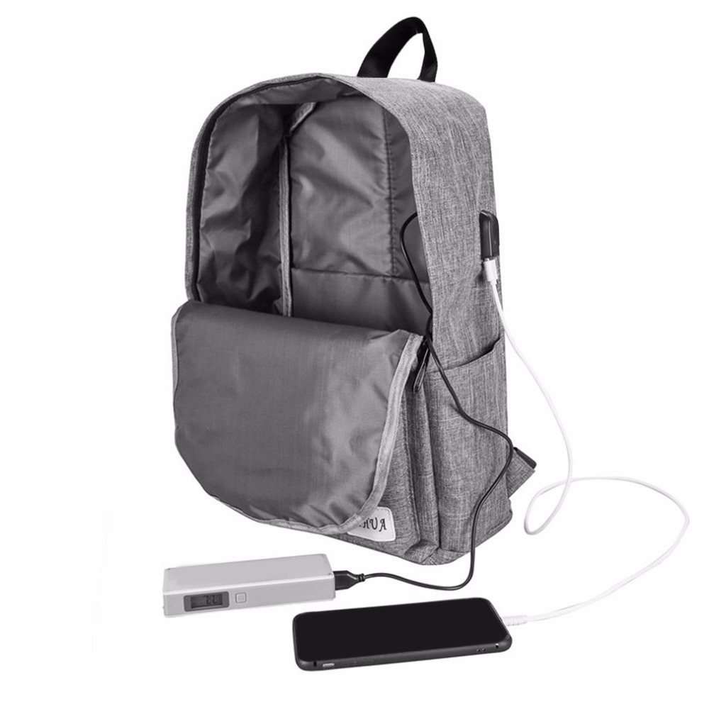 011dddfbd Best buy Fashionable Waterproof Canvas USB Charging Men Women Backpack  Notebook Teenagers Student School Bag Travel Laptop Backpack online cheap