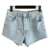 Nuevo 2016 Sin Límites Pantalones Cortos de Mezclilla mujeres pantalones vaqueros cortos de Verano pantalones cortos mujer Q-FGWM3436