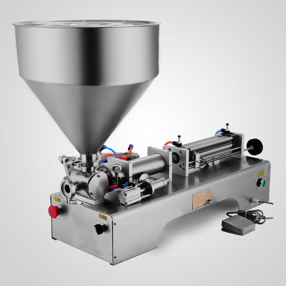 Liquid and Paste Filling Machine 50 500ml for Cream Shampoo Cosmetic Toothpaste