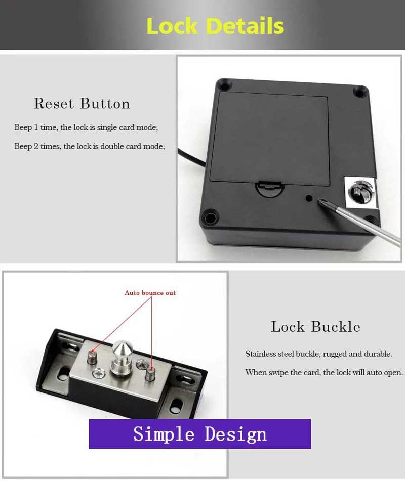 HTB1PWcSNjDpK1RjSZFrq6y78VXad Smart Electronic Hidden RFID Cabinet Lock No Hole Easy Installation Furniture Locker Wardrobe Shoe Cabinet Drawer Door Lock With Two Cards/Keytags