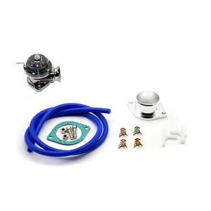 Image 2 - Universal Type RS Turbo Blow off Valve Adjustable 25psi BOV Blow dump/Blow off adaptor 5 colors