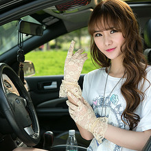 New Arrival Party Driving Sexy Women Lady Lace Gloves Mittens