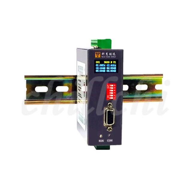 Entrée et sortie numériques analogiques module IO Modbus RTU & TCP RS485/232 6 en 2.