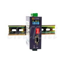 التناظرية الرقمية المدخلات والمخرجات IO وحدة Modbus RTU و TCP RS485/232 6 في 2 خارج.