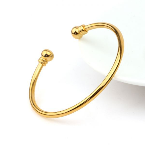 gold solid avanti court plated real bangle gp school bracelet yellow bangles set inch home cheapjewelry small primary