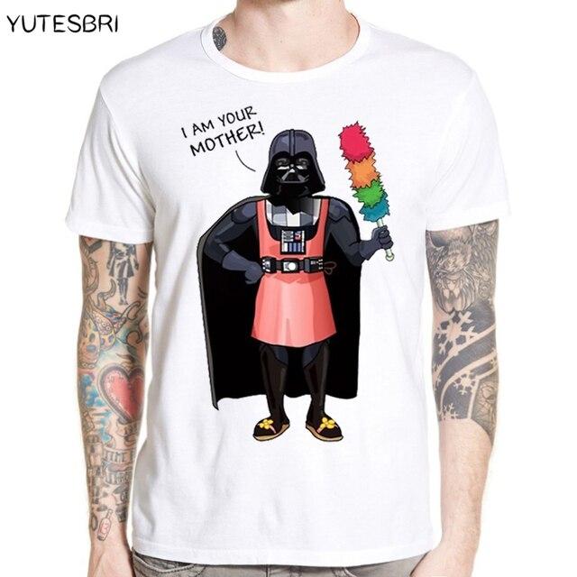 33af392f4 New arrival Fashion darth vader Design Men T-shirt Short Sleeve Hipster  funny Star Wars