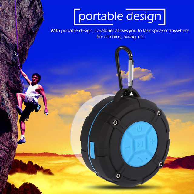 TOPROAD Waterproof Bluetooth Speaker IPX7 6