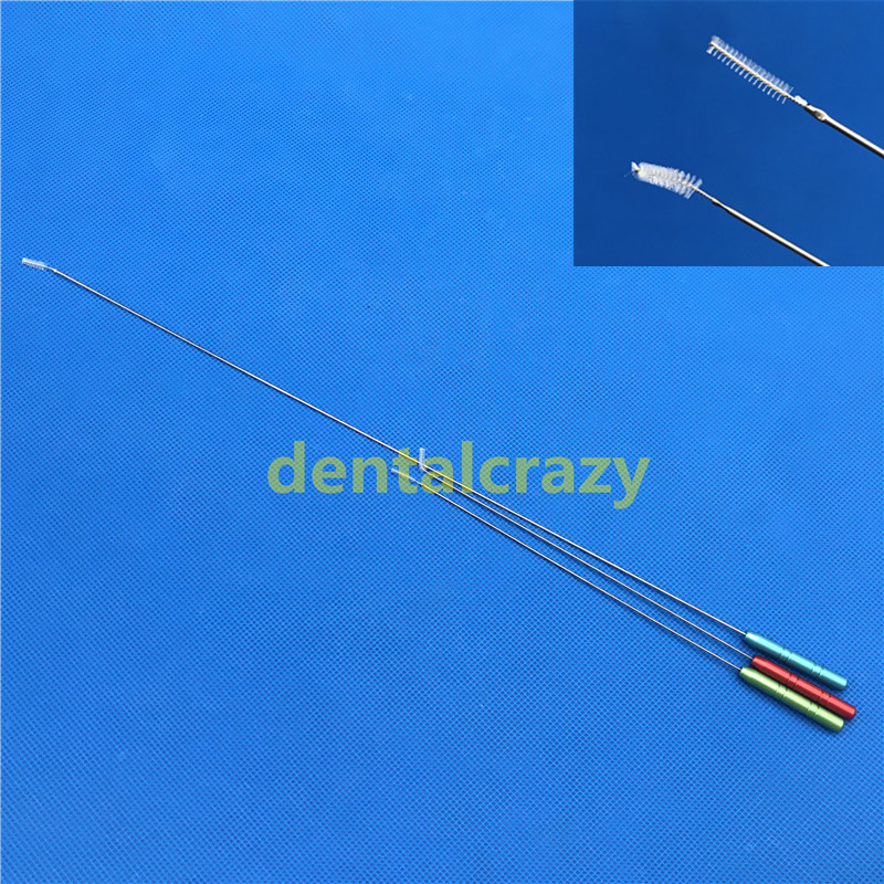 Cleaning Brush Fat Stem Cell Liposuction Cannula Cleaning Cannula Brush 3pcs/set