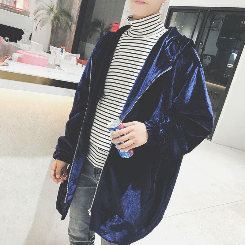 kemilove Mens Zipper Sweatshirt Overcoat,Man Casual Solid Trench Coat Cardigan Autumn Winter Long Sleeve Outwear