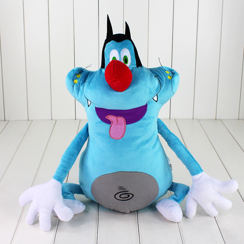 Animal-Doll Cockroaches Plush-Toy Cartoon Stuffed French And 40cm Fat Oggy The