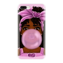 new style 318c4 4066b Buy black girl phone case and get free shipping on AliExpress.com