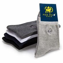 Men's Socks Pier Polo Autumn And Winter Leisure Socks Cotton Socks Pure Men Deodorization